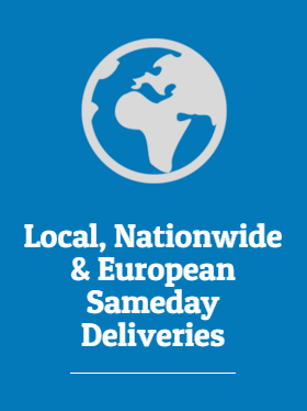 Local, Nationwide & European Sameday Deliveries